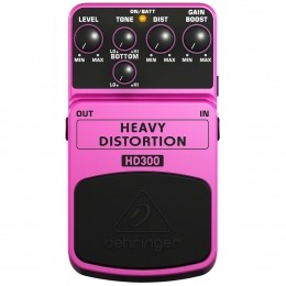 Pedal Distortion p/ Guitarra - HD 300 Behringer
