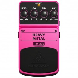 Pedal Distortion p/ Guitarra - HM 300 Behringer