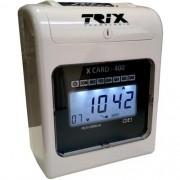 Relógio de Ponto Cartográfico X Card-400 - Trix Tecnologia