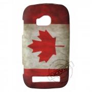 Capa Personalizada Bandeira Envelhecida Canadá para Nokia Lumia 710