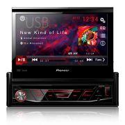 DVD Player Multimídia Pioneer AVH-3880DVD Tela 7 Retrátil Mp3 Usb Fronatl Am Fm