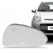Aplique Cromado para Retrovisor Fiat Palio Siena 2012 em diante Lado Esquerdo
