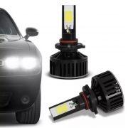 Kit Lâmpada Super Led Headlight Techone  HB4 6000K 12V 24V Efeito Xenon