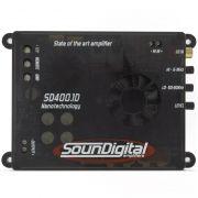 Módulo Amplificador Soundigital sd400.1d Mini (1 canal de 400w RMS 1ohm)
