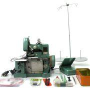 Máquina de Costura Overlock Semi-Industrial Portátil