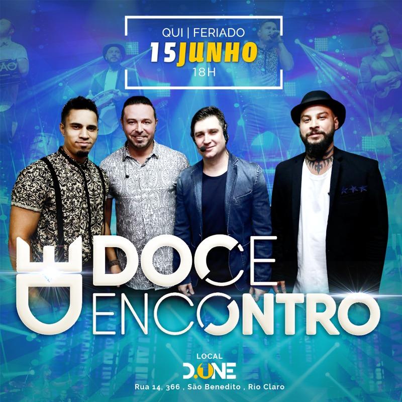 Doce Encontro - 15/06/17 - Rio Claro - SP