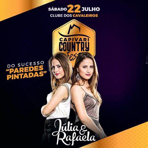 Júlia & Rafaela - 22/07/17 - Capivari - SP