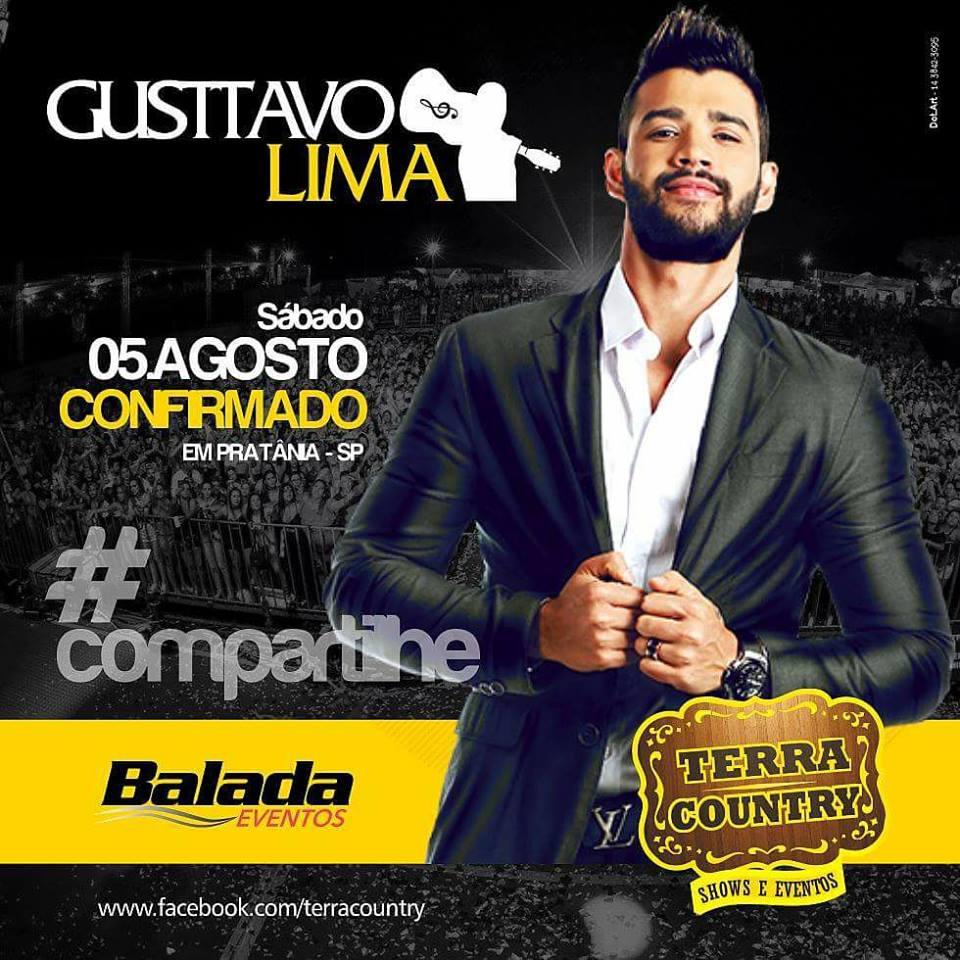 Gusttavo Lima - 05/08/17 - Pratânia - SP