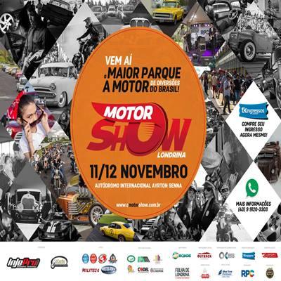 O Motor Show Passaporte - 11 e 12/11/17 - Londrina - PR