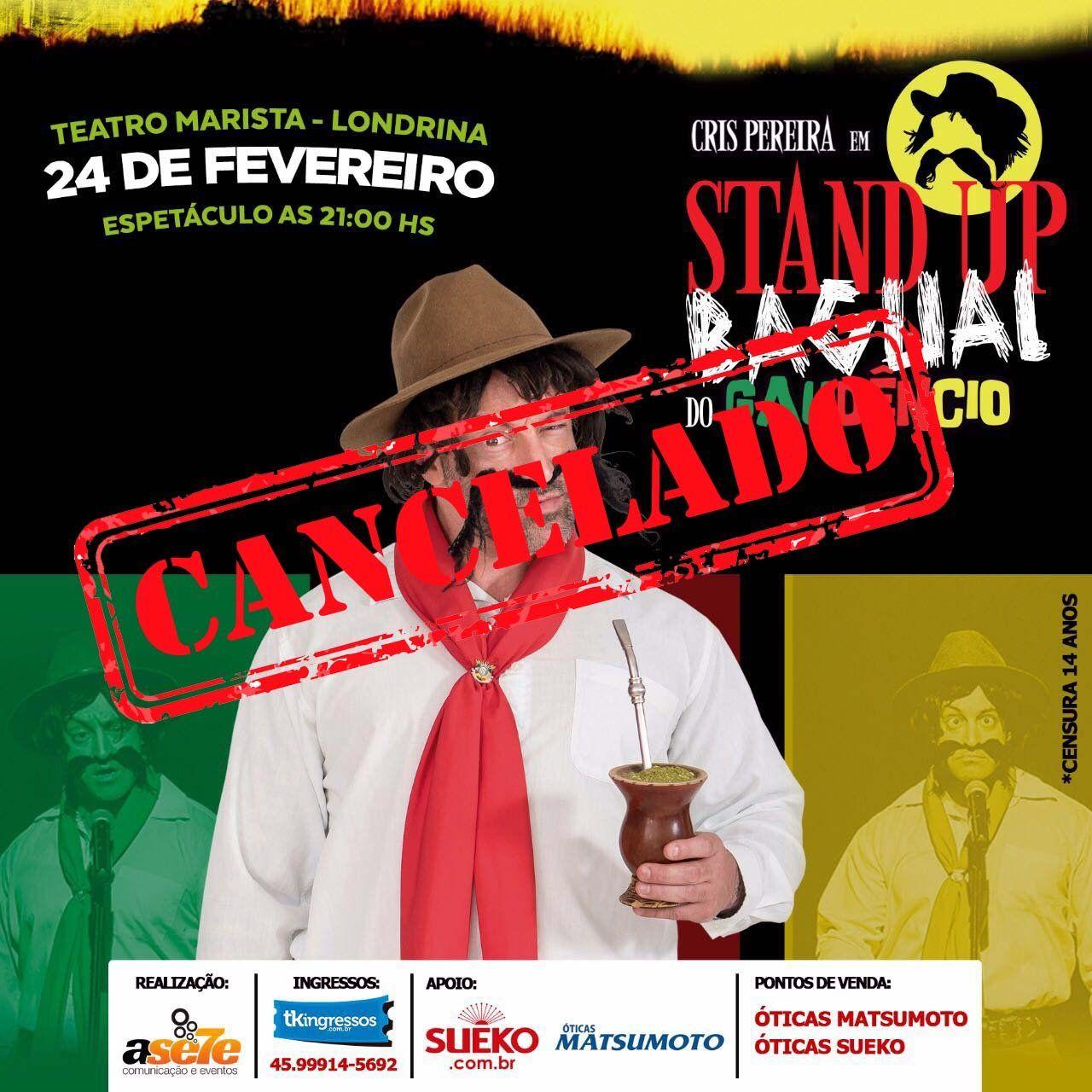 Gaudêncio - 24/02/18 - Londrina - PR