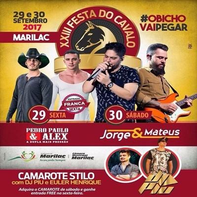 Jorge & Mateus - 30/09/17 - Marilac - MG