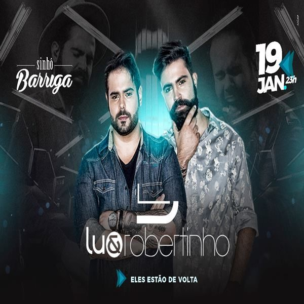 Lu & Robertinho - Sinhô Barriga - 19/01/18 - Leme - SP