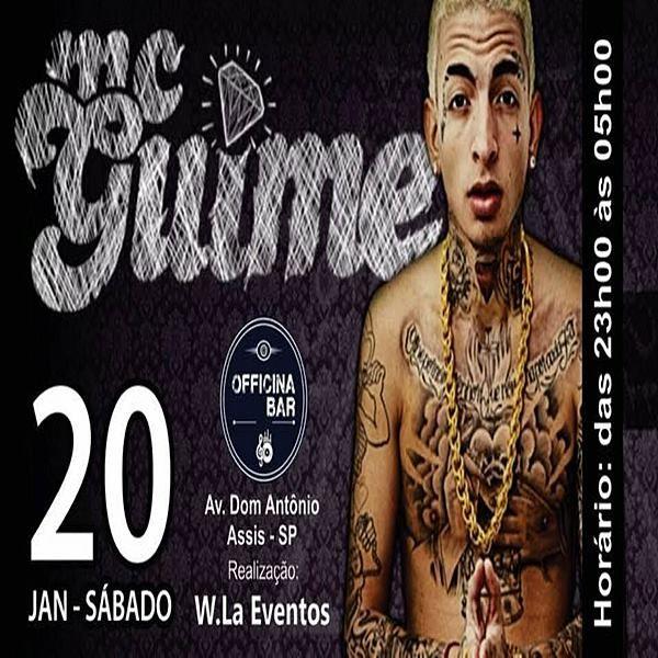 MC Guimê - Officina Bar - 20/01/18 - Assis - SP