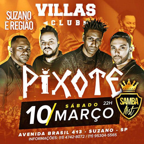 Pixote - 10/03/18 - Suzano - SP