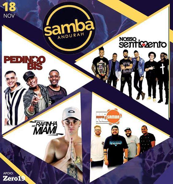 Samba Andurah - 18/11/17 - Pouso Alegre - MG