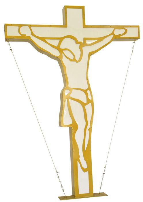 Cruz Cristo Estilizado