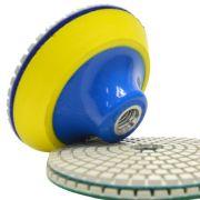 Suporte de Lixa com fecho de contato e Espuma 100mm - Colar