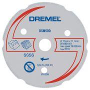 Disco de Corte Para Madeira e Plástico DSM500 - Dremel