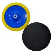 Suporte de Lixa com fecho de contato e Espuma 180mm - Colar