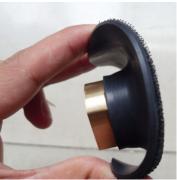 Suporte de Lixa Fino Flexível com Velcro