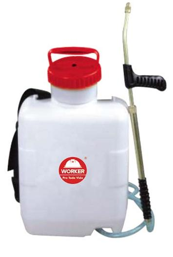 Pulverizador Plastico Costal Manual 12L - Worker  - COLAR