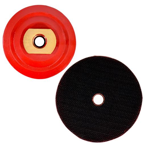 Suporte de Lixa 3 Polegadas com fecho de contato e Rosca M14 - 80mm  - COLAR
