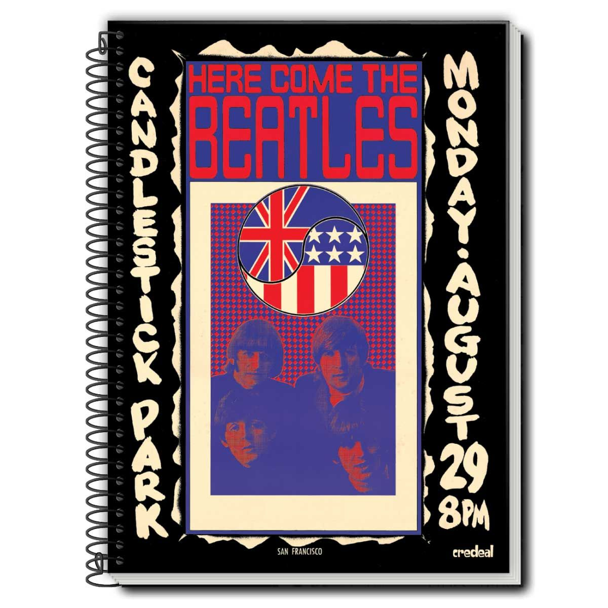 Caderno The Beatles Here Come The Beatles 1 Matéria