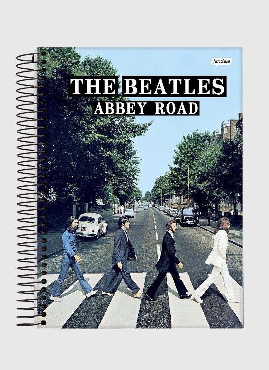 Caderno The Beatles Abbey Road 1 Matéria