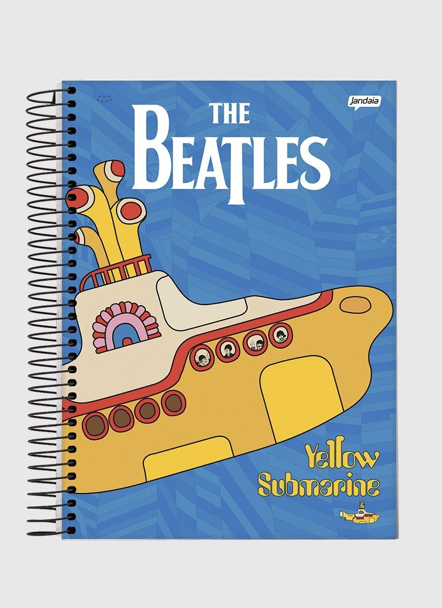Caderno The Beatles Sea Submarine 1 Matéria