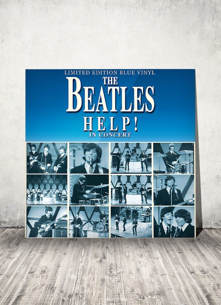 LP The Beatles Help In Concert