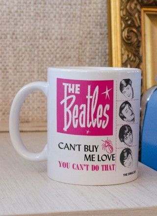 Caneca The Beatles Can't Buy Me Love