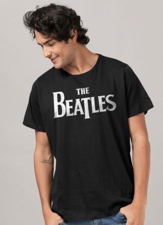 Camiseta Unissex The Beatles Classic Logo