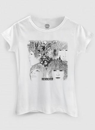 Camiseta Feminina The Beatles Revolver