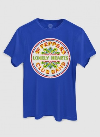 Camiseta Unissex The Beatles Sgt. Pepper's Lonely Hearts Club Band