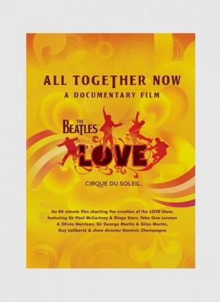 Produto IMPORTADO DVD The Beatles & Cirque Du Soleil - All Together Now
