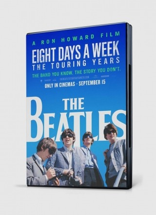 DVD Nacional The Beatles Eight Days a Week The Touring Years