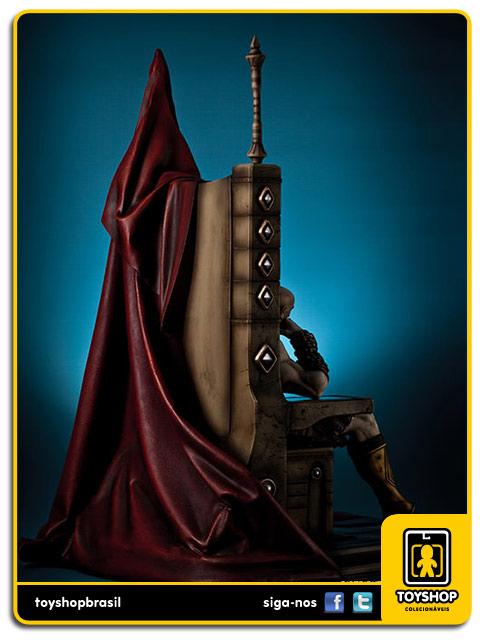 God of War: Kratos on Throne - Gaming Heads