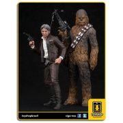 Star Wars The Force Awakens Han Solo & Chewbacca  Pack 1/10 ArtFX Kotobukiya