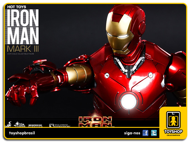 Iron Man: Iron Man Mark III Diecast - Hot Toys