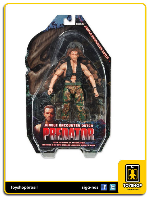 Predator: Jungle Encounter Dutch - Neca