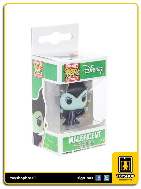 Disney Pocket Pop: Maleficent Key Chain - Funko