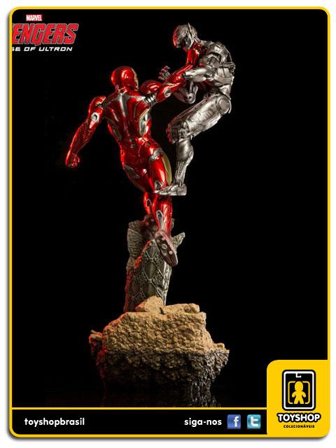 Avengers Age of Ultron: Iron Man Mark XLV 1/6 Battle Diorama - Iron Studios