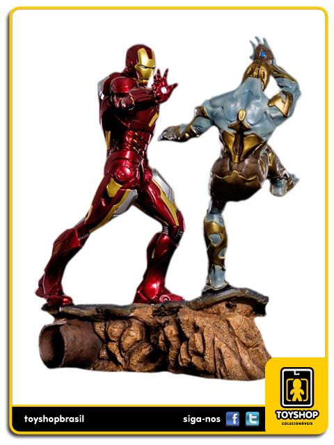 The Avengers: Diorama Iron Man Mark VII 1/6 - Iron Studios