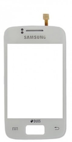 Touch Samsung Y Duos S6102 Branco 1 Linha