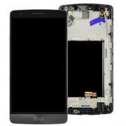 Frontal LG G3 Mini Beat D722 D724 D725 724 Preto