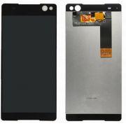 Frontal Sony Xperia C5 E5563 Preto 1 Linha