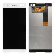 Frontal Sony Xperia C5 E5563 Branco sem Aro 1 Linha