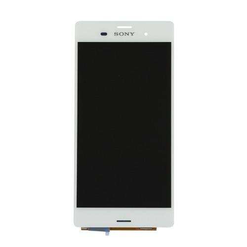 Frontal Sony Z3 D6633 D6653 Branco - 1 Linha