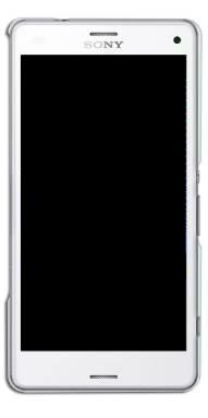 Frontal Touch e Lcd Sony Xperia Z3 Compact D5833 Branco Com Aro Original Retirado