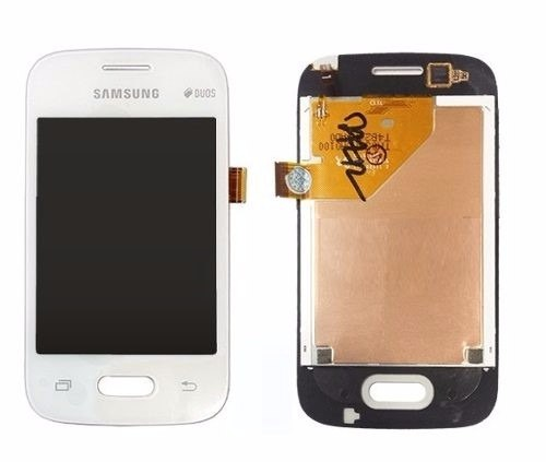 Frontal Samsung Pocket 2 G110b G110 Branco